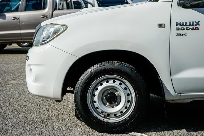 2011 Toyota Hilux SR KUN16R MY10 Glacier White
