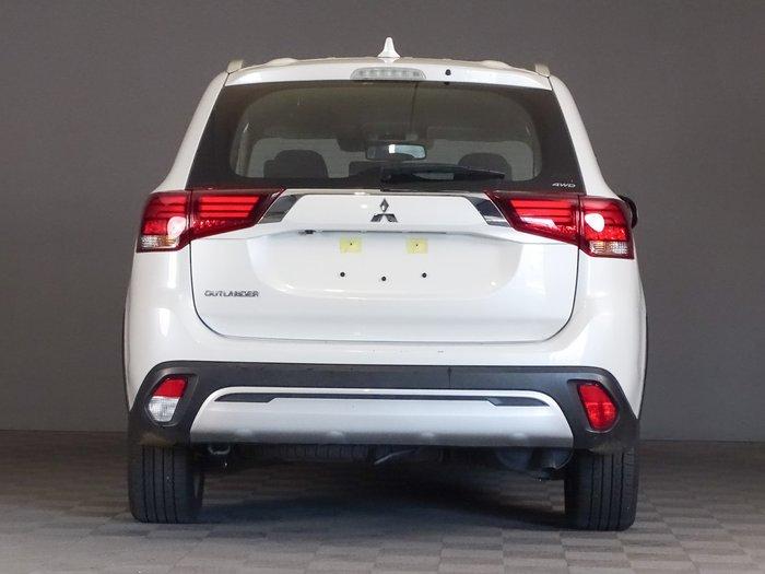 2019 Mitsubishi Outlander ES ZL MY19 AWD White
