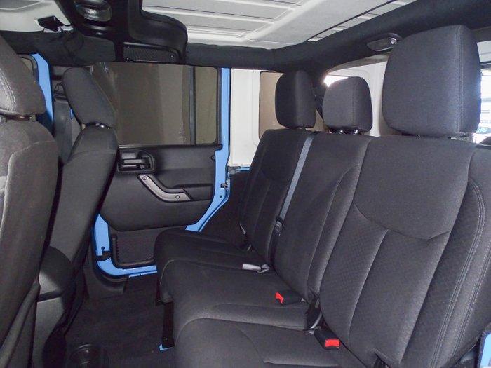 2017 Jeep Wrangler Unlimited Sport JK MY17 4X4 Dual Range Blue