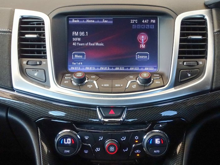 2015 Holden Special Vehicles GTS GEN-F MY15 Red