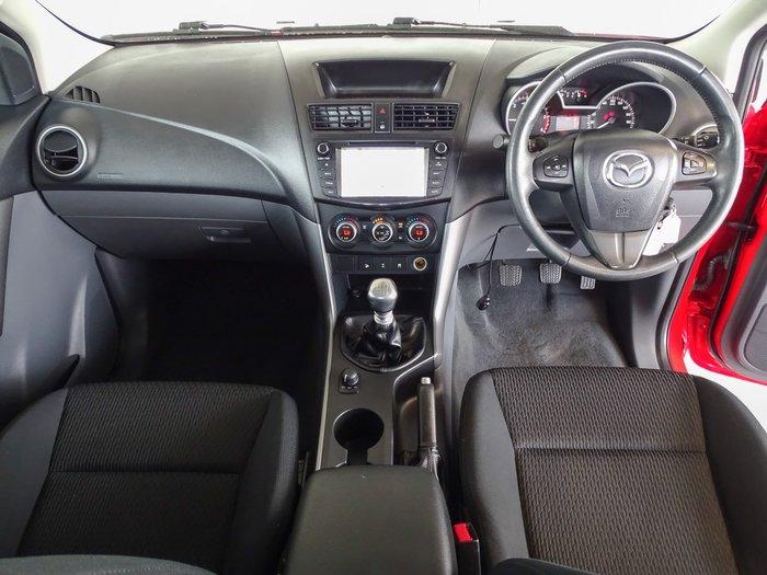 2015 Mazda BT-50 XTR UR 4X4 Dual Range Red