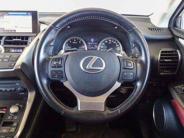 2017 Lexus NX NX200t Luxury AGZ10R Sonic Quartz