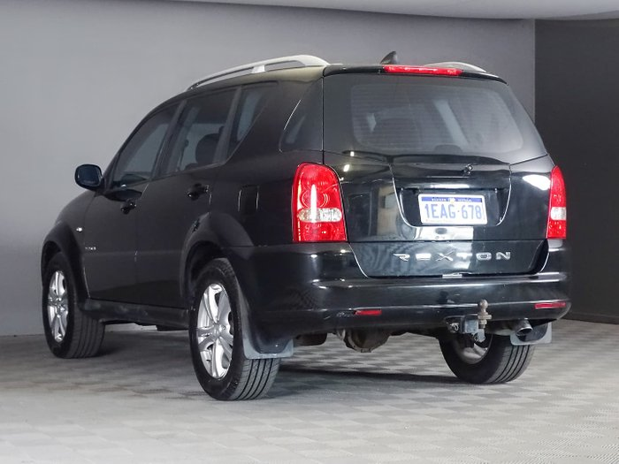 2012 SsangYong Rexton RX270 Y285 II MY10 4X4 On Demand Space Black