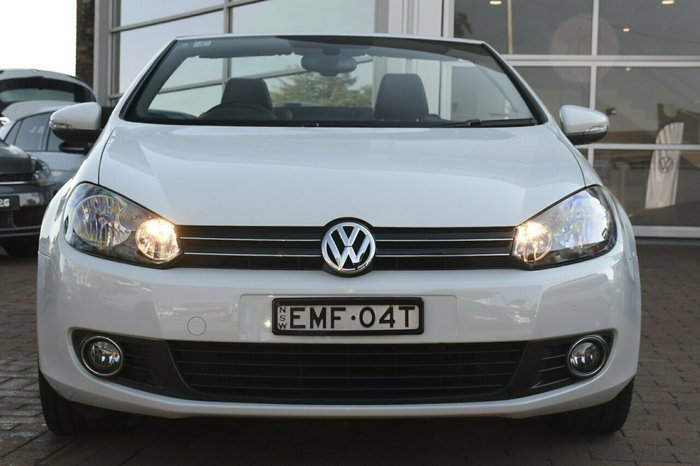 2013 Volkswagen Golf 118TSI VI MY13.5 PURE WHITE