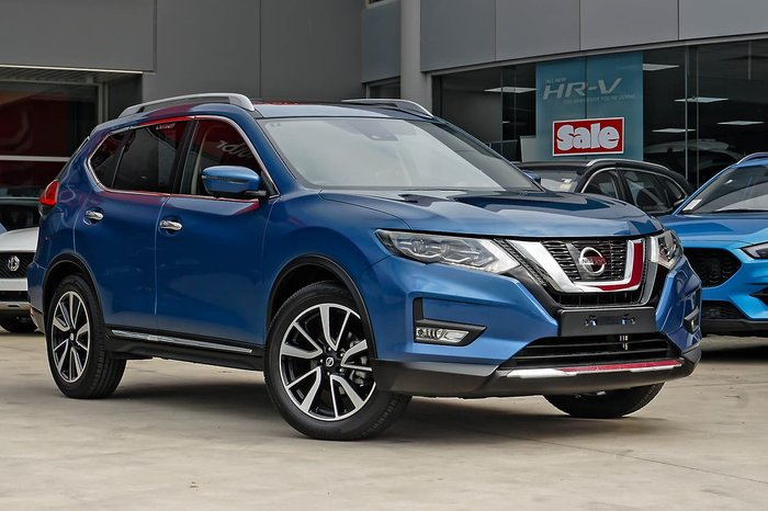 2020 Nissan X-TRAIL Ti T32 Series III MY20 4X4 On Demand Blue