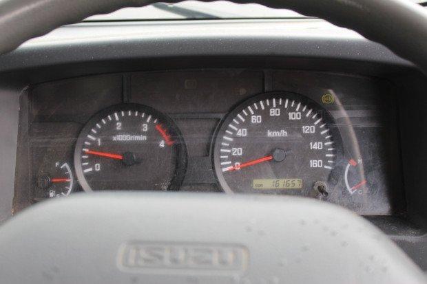 2009 Isuzu NPR400 NPR 400 WHITE