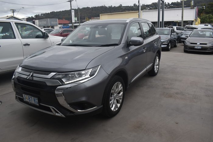 2020 Mitsubishi Outlander ES ZL MY21 AWD Grey