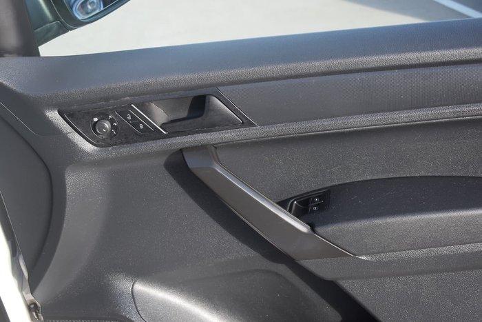 2018 Volkswagen Caddy TSI220 2KN MY19 White