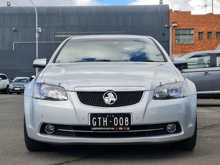 2012 Holden Calais V VE Series II MY12.5 Silver