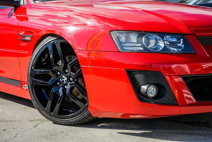 2006 Holden Special Vehicles Maloo R8 Z Series MY06 Red