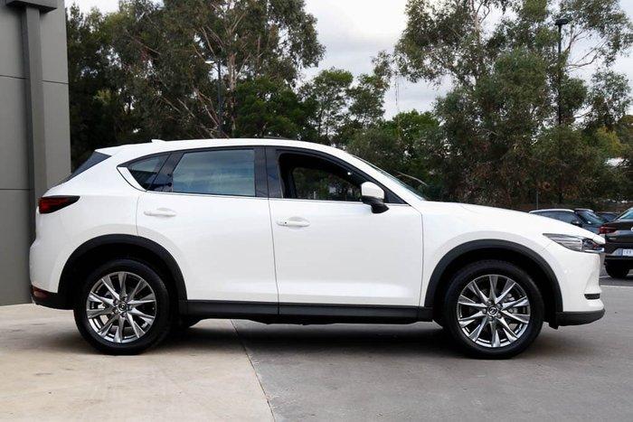 2020 Mazda CX-5 Akera KF Series AWD Snowflake White Pearl