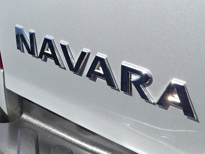 2018 Nissan Navara ST Black Edition D23 Series 3 4X4 Dual Range Brilliant Silver