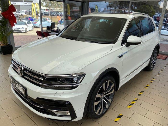2017 Volkswagen Tiguan 162TSI Highline 5N MY17 Four Wheel Drive Pure White