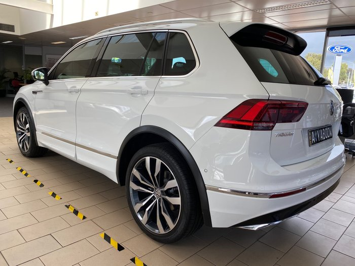 2017 Volkswagen Tiguan 162TSI Highline 5N MY17 Four Wheel Drive Pure White