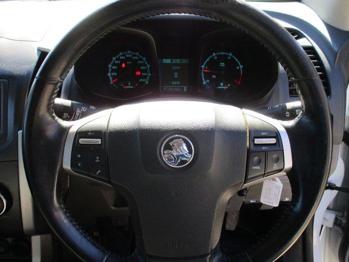 2015 Holden Colorado LS RG MY16 4X4 Dual Range Summit White