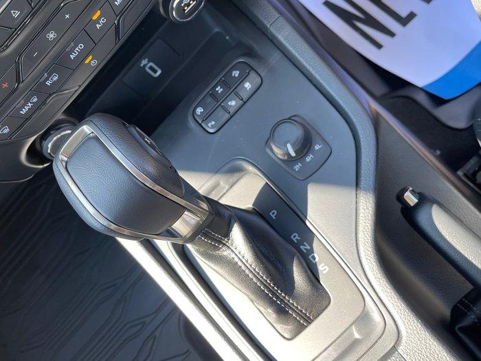 2021 Ford Ranger FX4 Max PX MkIII MY21.25 4X4 Dual Range Shadow Black