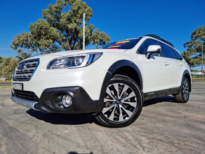 2016 Subaru Outback 2.0D Premium 5GEN MY16 AWD Crystal White