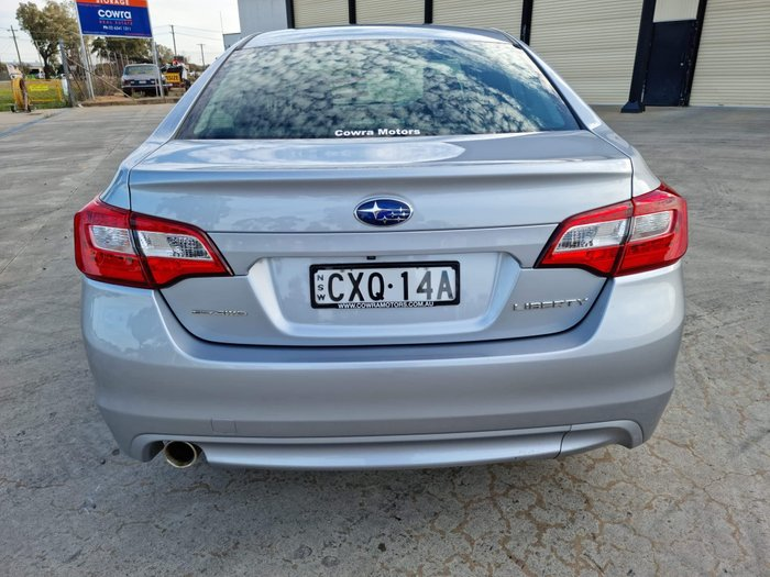 2015 Subaru Liberty 2.5i Premium 6GEN MY15 AWD Ice Silver