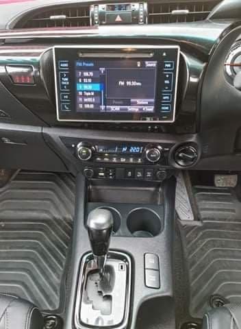 2018 Toyota Hilux Rugged X GUN126R 4X4 Dual Range Silver Sky