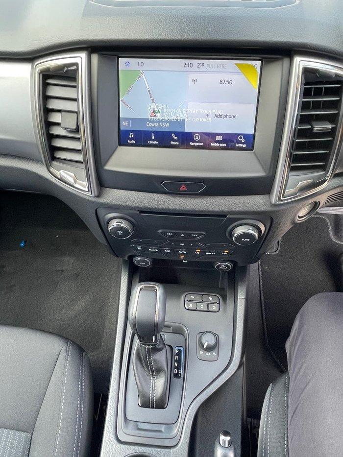 2021 Ford Ranger XLT PX MkIII MY21.25 4X4 Dual Range Meteor Grey