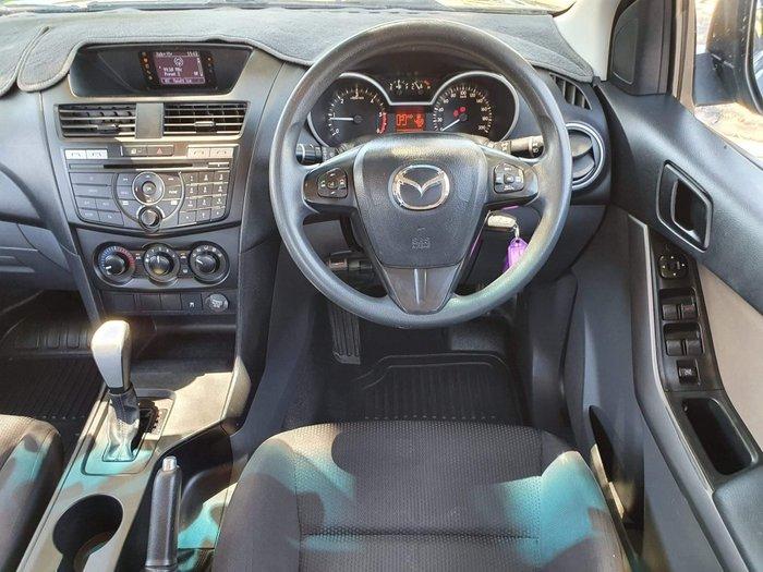 2015 Mazda BT-50 XT Hi-Rider UR Blue Reflex