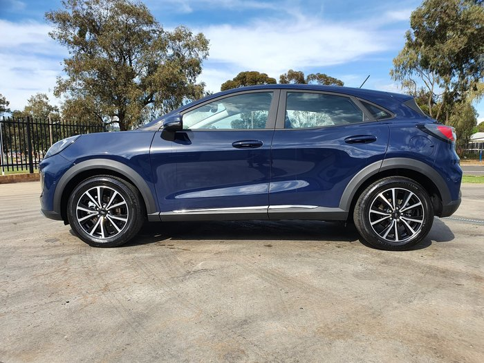 2020 Ford Puma JK MY20.75 Blazer Blue