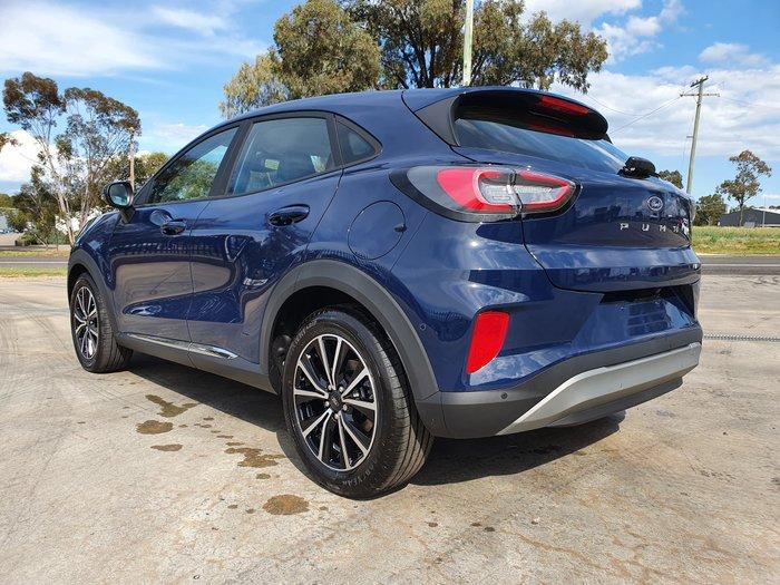 2020 Ford Puma JK MY20.75 Blazer Blue