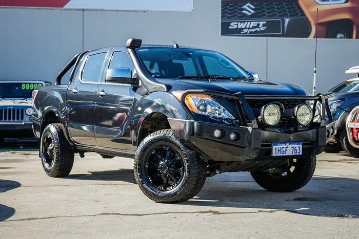 2013 Mazda BT-50 XTR UP 4X4 Dual Range Black