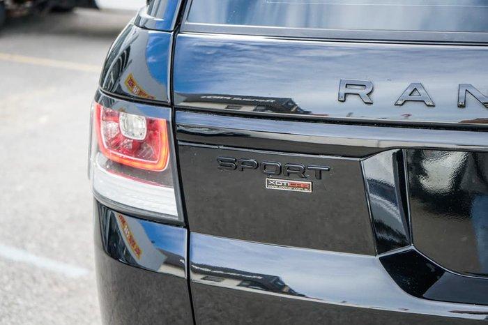 2016 Land Rover Range Rover Sport SDV6 HSE L494 MY16 4X4 Dual Range Barolo Black