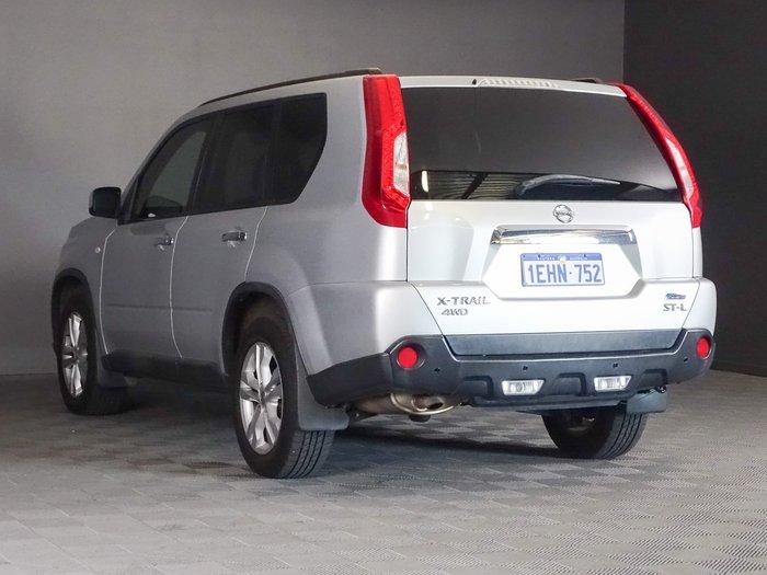 2012 Nissan X-TRAIL ST-L T31 Series IV 4X4 On Demand Brilliant Silver