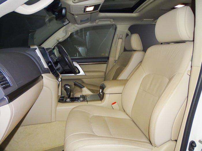 2019 Toyota Landcruiser VX VDJ200R 4X4 Dual Range Crystal Pearl