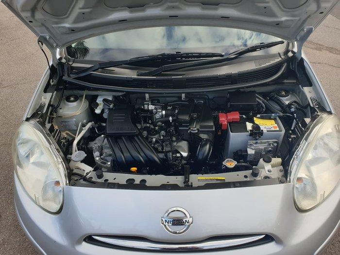 2011 Nissan Micra ST K13 Silver