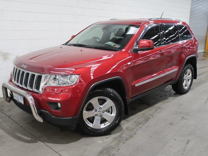 2012 Jeep Grand Cherokee Laredo WK MY13 4X4 Constant Red