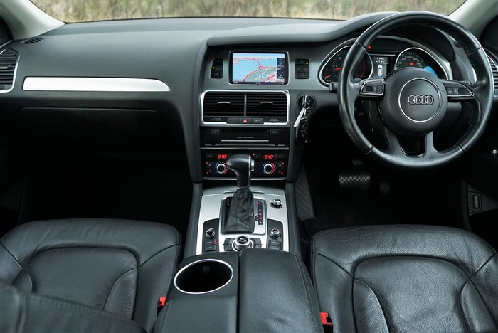 2012 Audi Q7 TDI MY12 Four Wheel Drive White