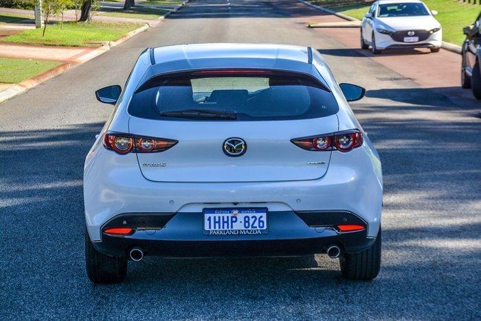 2020 Mazda 3 G20 Pure BP Series Snowflake White Pearl