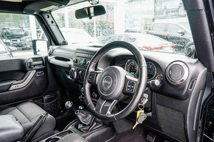 2011 Jeep Wrangler Sport JK MY10 4X4 Black