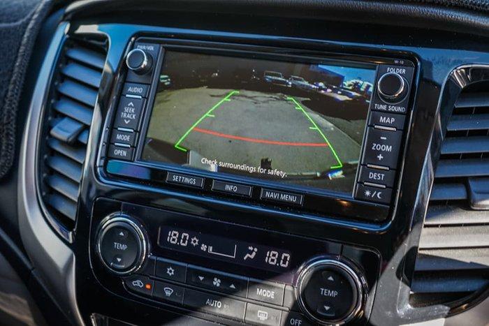 2016 Mitsubishi Triton Exceed MQ MY17 4X4 Dual Range Impulse Blue