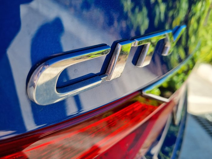 2014 Honda City VTi GM MY14 Brilliant Sporty Blue