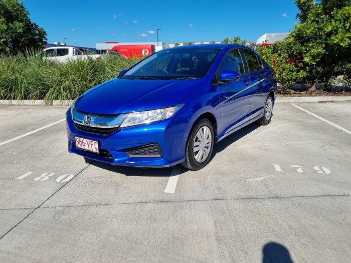 2014 Honda City VTi GM MY14 Brilliant Sporty Blue
