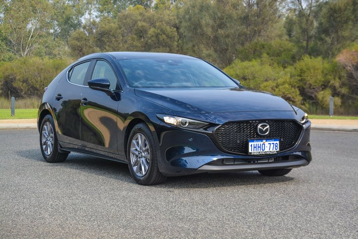 2020 Mazda 3 G20 Pure BP Series Deep Crystal Blue