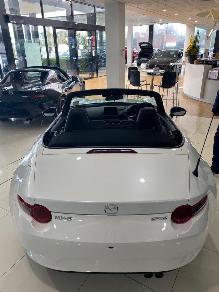 2021 Mazda MX-5 ND Snowflake White Pearl
