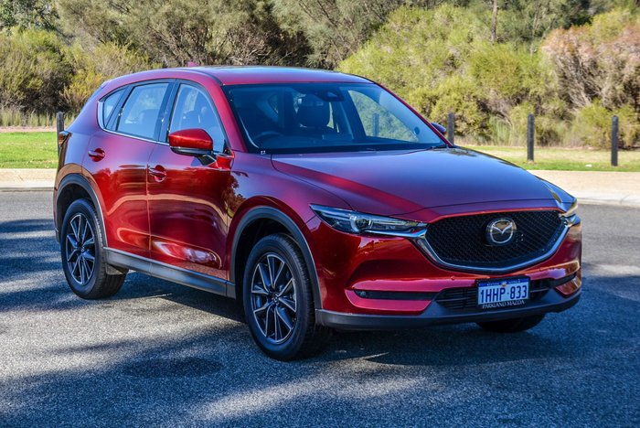 2020 Mazda CX-5 GT KF Series AWD Soul Red Crystal