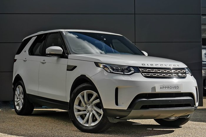 2019 Land Rover Discovery SD6 SE Series 5 MY20 4X4 Dual Range White