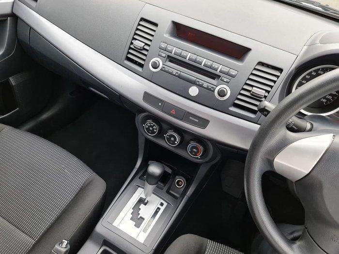 2009 Mitsubishi Lancer ES CJ MY10 Silver