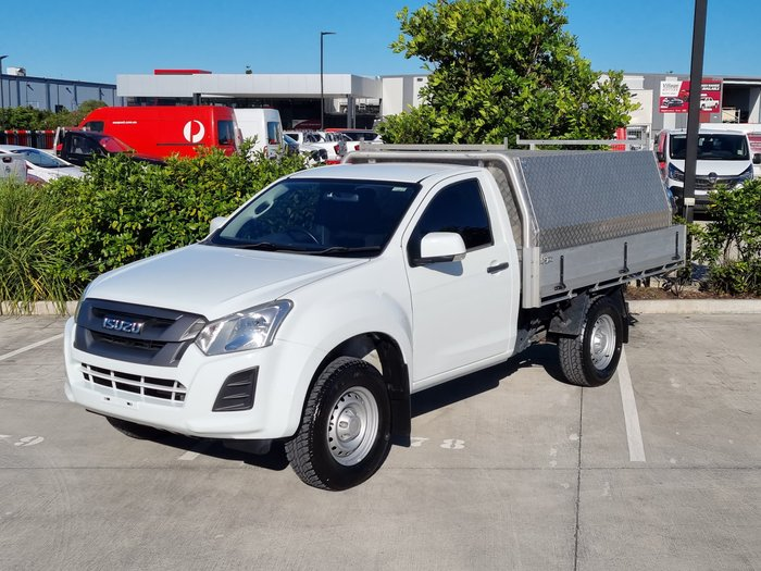 2017 Isuzu D-MAX SX High Ride MY17 Splash White