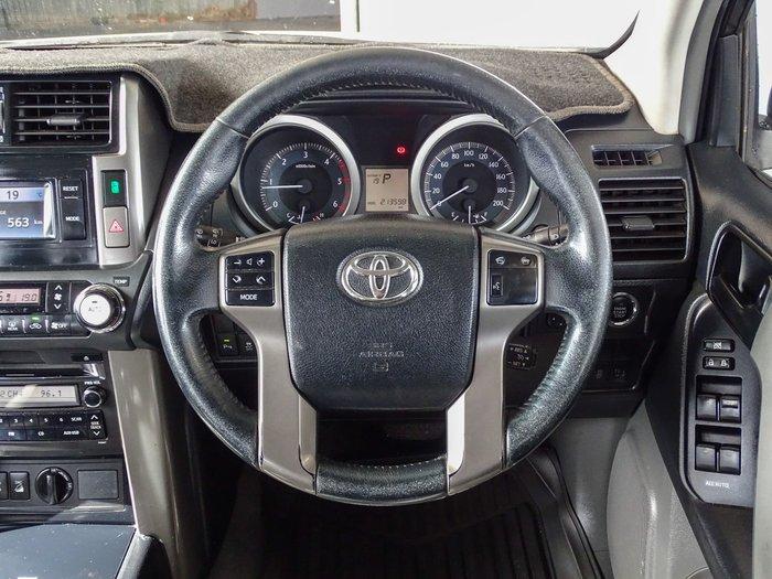 2010 Toyota Landcruiser Prado GXL KDJ150R 4X4 Constant Glacier White