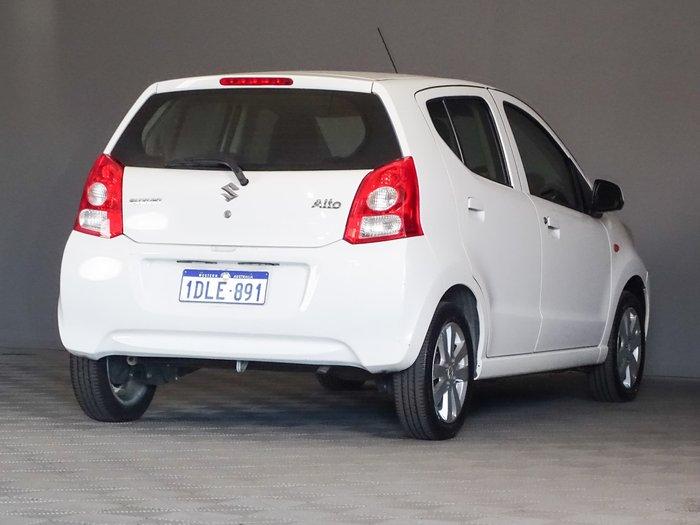 2010 Suzuki Alto GLX GF Superior White