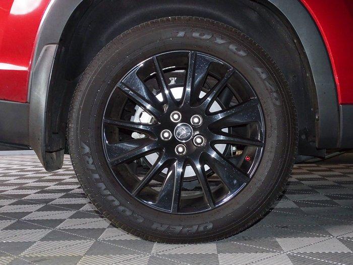 2019 Toyota Kluger Black Edition GSU50R Merlot Red