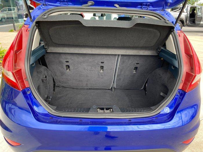 2013 Ford Fiesta CL WT Aurora Blue
