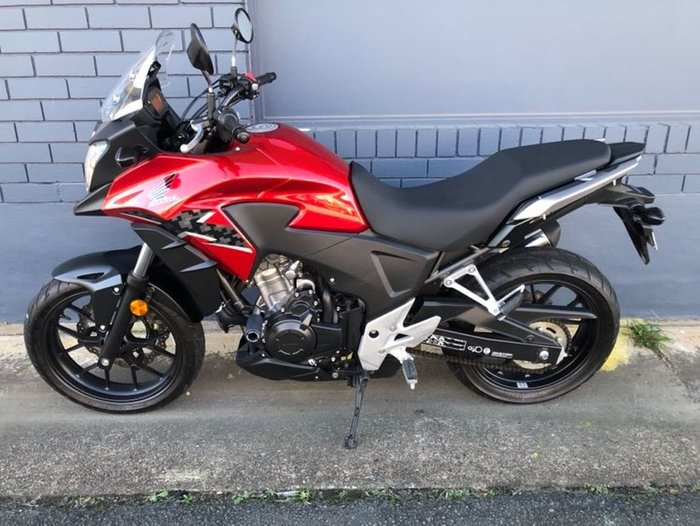 2014 HONDA CB500XA Red